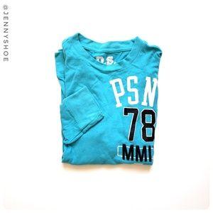 {p.s. aeropostale} graphic long sleeve tee shirt